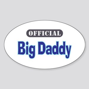 Official Big Daddy - Oval Sticker