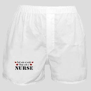 Feel Safe Sleep with a Nurse Boxer Shorts