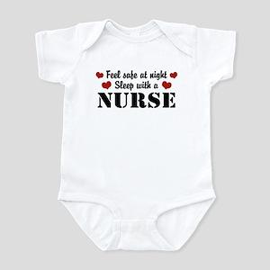 Feel Safe Sleep with a Nurse Infant Bodysuit