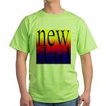 108 dad rainbow back Green T-Shirt