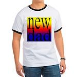 108 dad rainbow back Ringer T