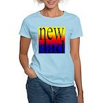 108 dad rainbow back Women's Pink T-Shirt