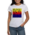 108 dad rainbow back Women's T-Shirt