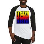 108 dad rainbow back Baseball Jersey