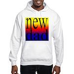 108 dad rainbow back Hooded Sweatshirt
