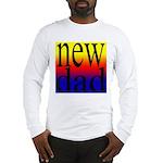108 dad rainbow back Long Sleeve T-Shirt