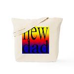 108 dad rainbow back Tote Bag