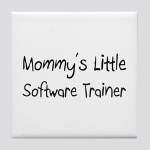 Mommy's Little Software Trainer Tile Coaster