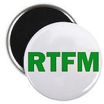"""RTFM 2.25"""" Magnet (10 pack)"""