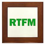 RTFM Framed Tile
