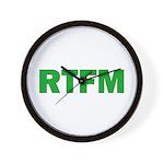 RTFM Wall Clock