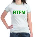 RTFM Jr. Ringer T-Shirt