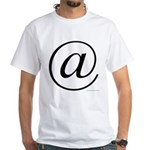 363. @ White T-Shirt