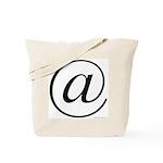 363. @ Tote Bag