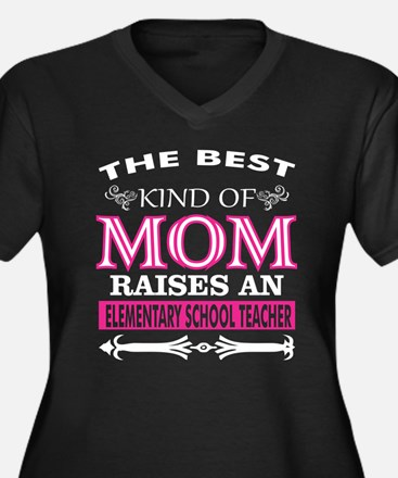 The Best Kind Mom Raises Element Plus Size T-Shirt