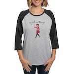 A Girl On The Go Womens Long Sleeve T-Shirt
