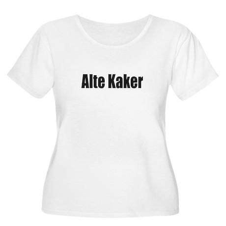 2c4d6b7b9b5 Alte Kaker Women s Plus Size Scoop Neck T-Shirt Alte Kaker T-Shirt ...