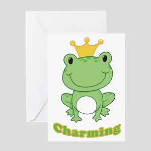 Charming (Frog) Greeting Card