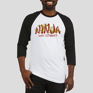 Dragon Ninja Law Student Baseball Jersey