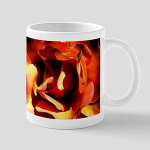 Painted Rose Mug