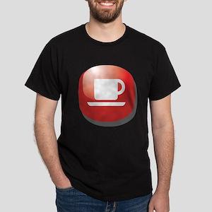 Coffee Lover Addict Dark T-Shirt