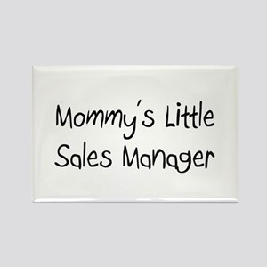 Mommy's Little Sales Manager Rectangle Magnet