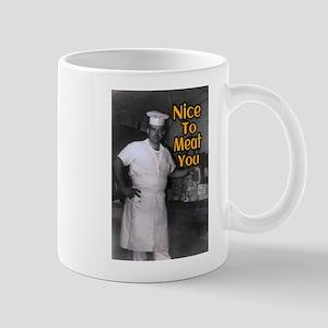 Nice To Meat You Mugs