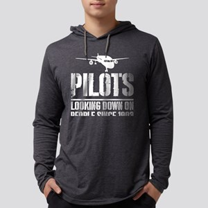 Pilots Looking Down On People Long Sleeve T-Shirt