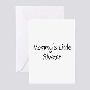 Mommy's Little Riveter Greeting Cards (Pk of 10)