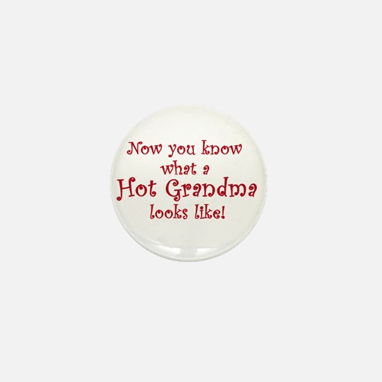 Hot Grandma Mini Button