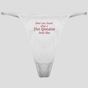 Hot Grandma Classic Thong