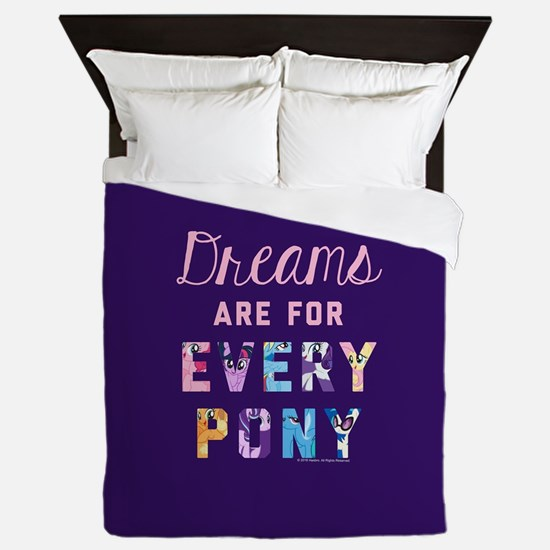 My Little Pony Dreams Every pony Queen Duvet