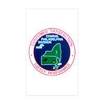 Conrail Philadelphia Division Rectangle Sticker 1