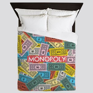 Monopoly cash Queen Duvet