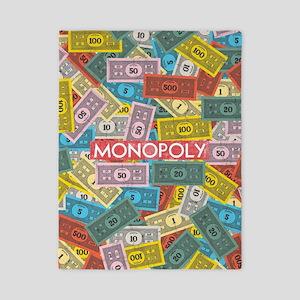 Monopoly cash Twin Duvet Cover