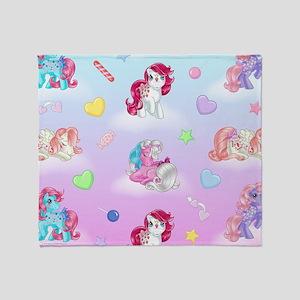My Little Pony Retro Best Friends Throw Blanket