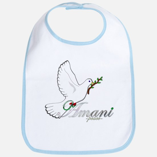 Amani - Peace - Bib