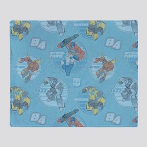 Transformer Vintage Throw Blanket