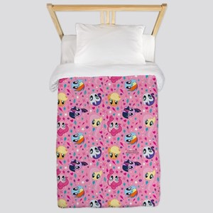MLP Pattern Pink Twin Duvet Cover