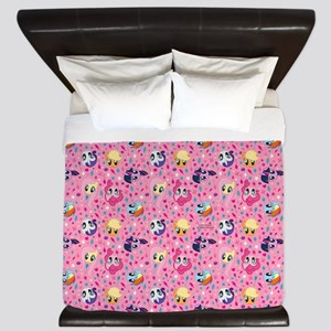MLP Pattern Pink King Duvet