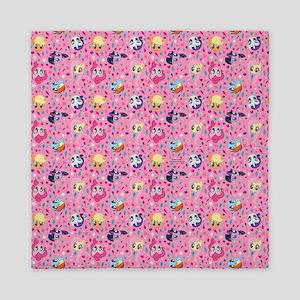 MLP Pattern Pink Queen Duvet