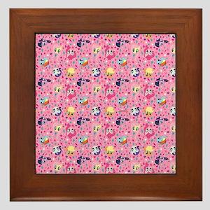 MLP Pattern Pink Framed Tile