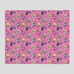 MLP Pattern Pink Throw Blanket