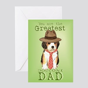 Beagle Father's Day Greeting Card