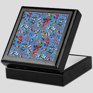Transformers Vintage Pattern Keepsake Box