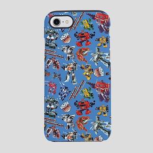 Transformers Vintage Pattern iPhone 8/7 Tough Case