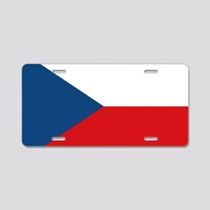 Ceska Republika Vlajka Aluminum License Plate