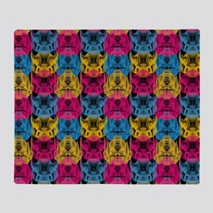 Transformers Graphic Pattern Throw Blanket