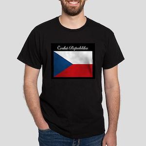 Ceska Republika Vlajka T-Shirt