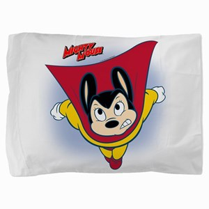 Mighty Mouse12bl Pillow Sham